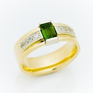 Prsten sa turmalinom