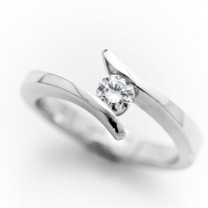 Modern eljegyzési gyűrű