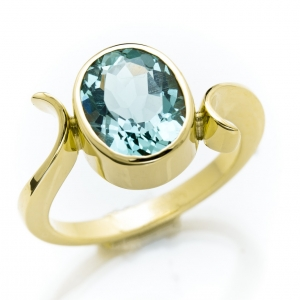 Unikatni zlatni prsten