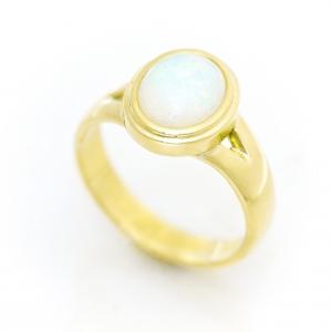 Zlatni prsten sa opalom