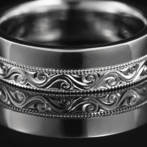 Prsten od b elog zlata