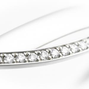 Elegáns fehérarany karperec gyémántokkal