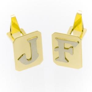 Manžetne od zlata sa monogramom
