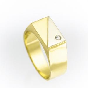 Muški prsten sa kamenom